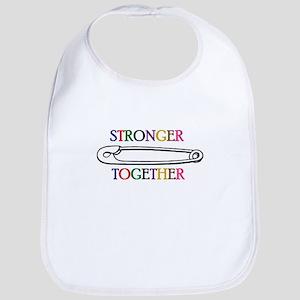 Stronger Together Baby Bib