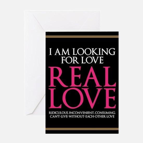 SATC Real Love Greeting Card
