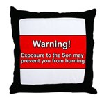Son Burn Christian Throw Pillow