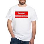 Son Burn Christian White T-Shirt