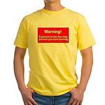 Son Burn Christian Yellow T-Shirt