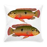 African Jewelfish Everyday Pillow