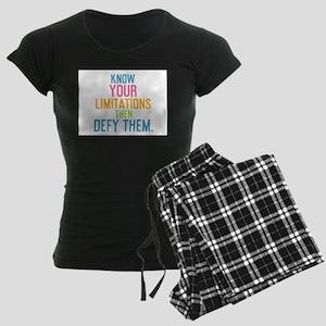 card Know your limitations th Pajamas