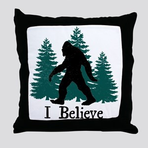 I Believe Throw Pillow