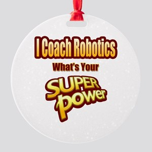 SuperPower-Robotics Round Ornament