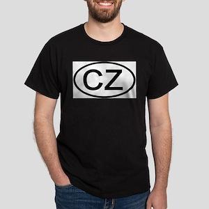 Czech Republic - CZ Oval Ash Grey T-Shirt