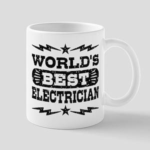 World's Best Electrician Mug