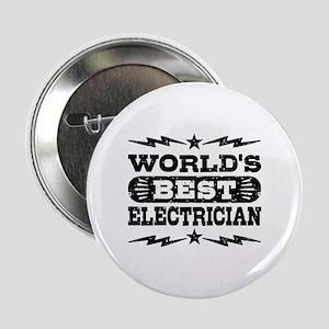 "World's Best Electrician 2.25"" Button"