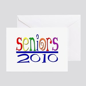 2010 google colors Greeting Card