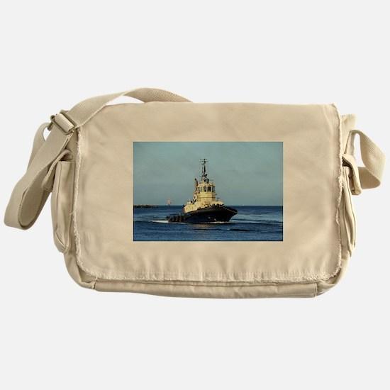 Tugboat Tingari, Australia Messenger Bag