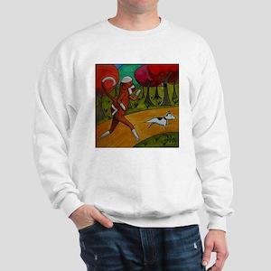 Jogging Sock Monkey Sweatshirt