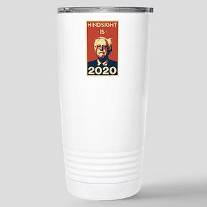 Bernie Sanders Hindsigh Stainless Steel Travel Mug
