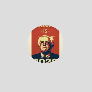 Bernie Sanders Hindsight is 2020 Mini Button