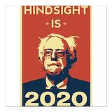 Hindsight 2020 Square Car Magnets