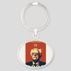 Bernie Sanders Hindsight is 2020 Keychains