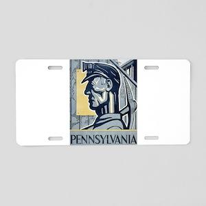 Vintage poster - Pennsylvan Aluminum License Plate
