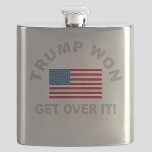 Trump Won Get Over It Flask