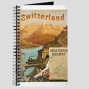 Vintage poster - Switzerland Journal