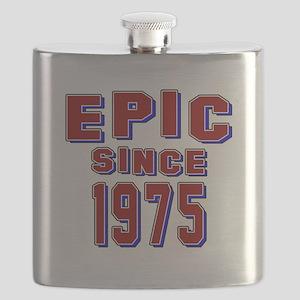 Epic Since 1975 Birthday Designs Flask