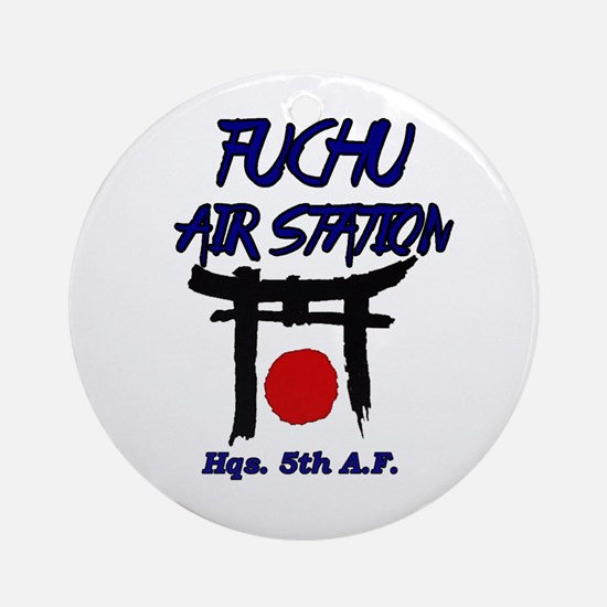 Fuchu Air Station Japan Round Ornament