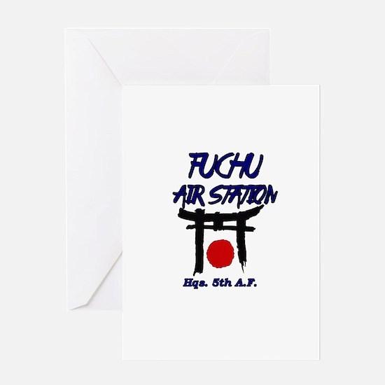 Fuchu Air Station Japan Greeting Cards