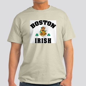 Funny Boston Irish Light T-Shirt