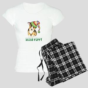 Holiday Corgi Pajamas
