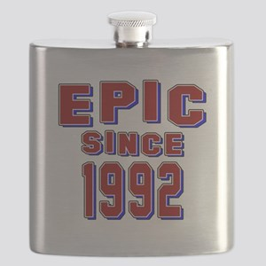 Epic Since 1992 Birthday Designs Flask