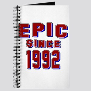 Epic Since 1992 Birthday Designs Journal