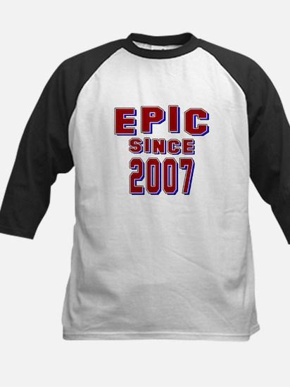 Epic Since 2007 Birthday Desi Kids Baseball Jersey