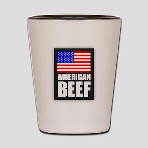 American Beef Shot Glass
