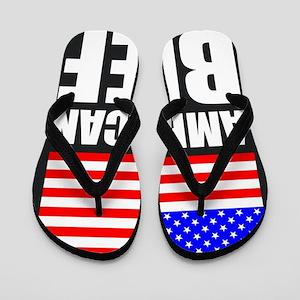 American Beef Flip Flops