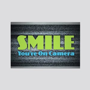 Smile You're On Camera Magnets