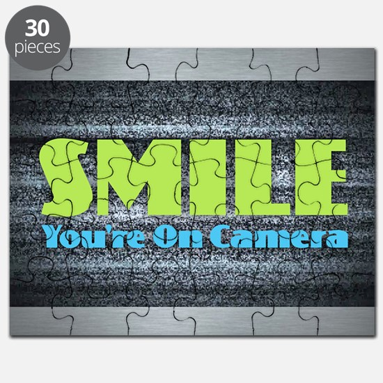 Smile You're On Camera Puzzle