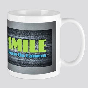 Smile You're On Camera Mugs
