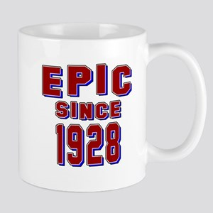 Epic Since 1928 Birthday Designs Mug