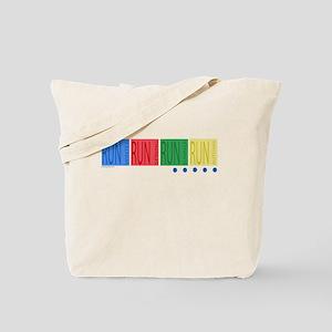 All Season Runner Tote Bag
