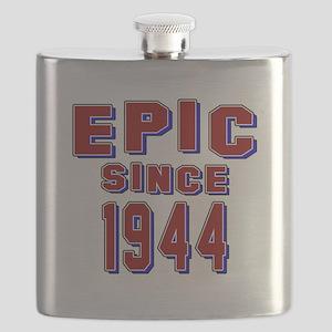 Epic Since 1944 Birthday Designs Flask
