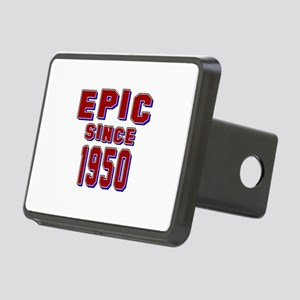 Epic Since 1950 Birthday D Rectangular Hitch Cover