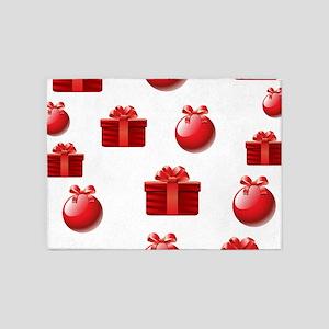 Christmas Presents 5'x7'Area Rug