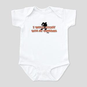 Philadelphia Hockey Grandma Infant Bodysuit
