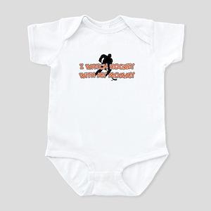 Philadelphia Hockey Mommy Infant Bodysuit
