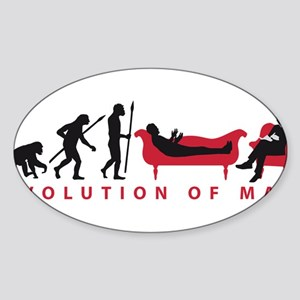 Evolution Therapist Psychologist Sticker