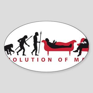 Evolution Therapist Psychologist Sticker