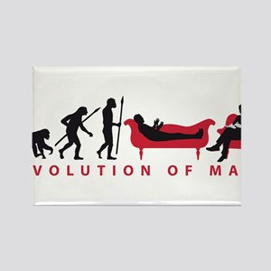 Evolution Therapist Psychologist Magnets