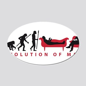 Evolution Therapist Psychologist Wall Decal