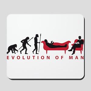 Evolution Therapist Psychologist Mousepad