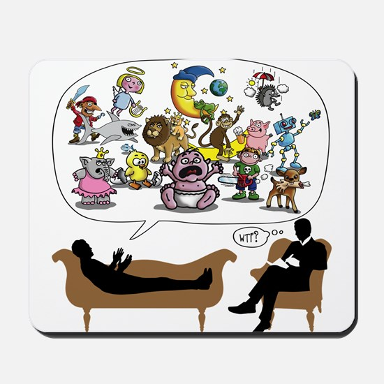 Therapist Psychologist Mousepad