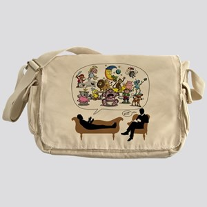 Therapist Psychologist Messenger Bag