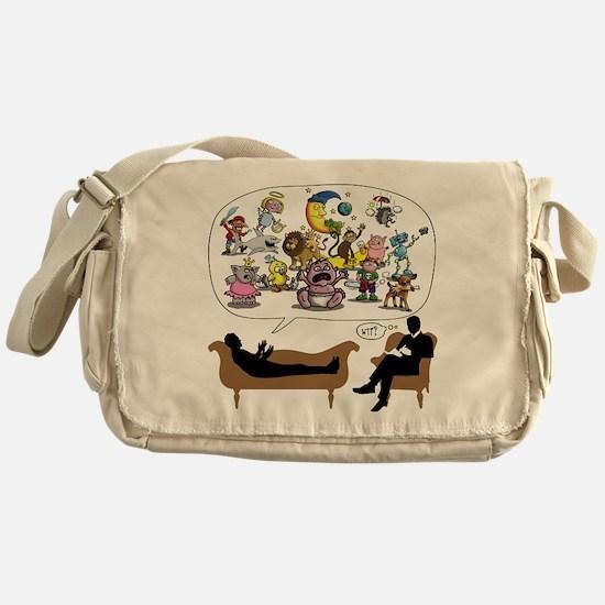 Therapist Psychologist Messenger Bag